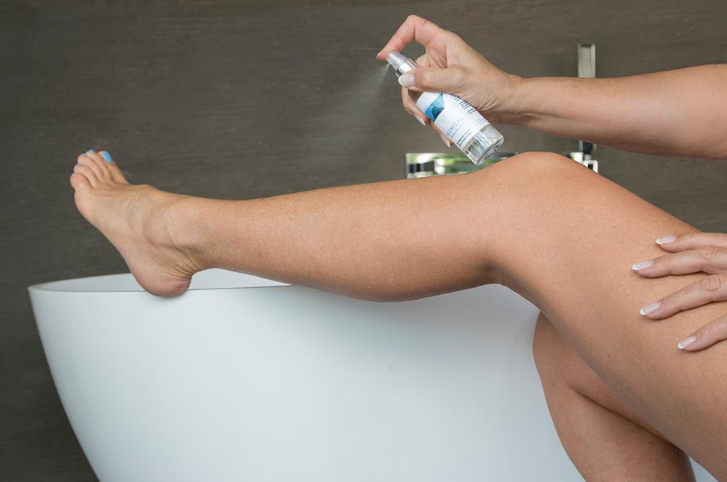 Magnesium olie om het magnesium tekort in uw lichaam aan te vullen